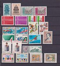s16978) ITALIEN MNH 1971 Komplett Year set 24v Jahrgang Vollständige NO L. 100