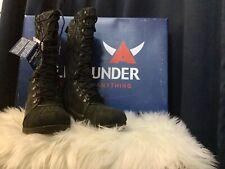 Allrounder  Arina Blabk Women Tall Boots Sz6.5-8