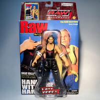 WWE RAW Uncovered MATT HARDY Figure Titan Tron Live Jakks Pacific 2003 WWF AEW