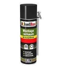 Montageschaum 500 ml XXL Füllschaum Aussprührohr Schaum + Aussprühadapter