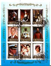 COREA colección 9 Sellos: Historia real de Europa ,La monarquía BX16 J