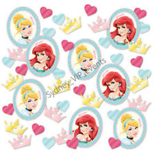 DISNEY PRINCESSES SCATTERS PARTY SPRINKLES CONFETTIE TABLE DECORATION BIRTHDAY