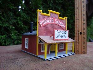 Model Railroad Assembled Building (Old West Saloon) HO scale by Kibri