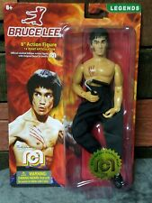 "MEGO Bruce Lee Action Figure 8"" Official Limited Legends Mint on Card Low #138"
