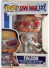 Funko Pop Marvel Falcon  Bobble Head # 127 Captain America Civil War Brand New