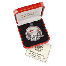 1991 Isle of Man - Norwegian Forest Cat - Silver Proof 1 oz