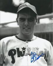 Curt Simmons 1950 Whiz Kids Philadelphia Phillies Autographed 8x10 Photo COA