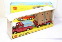 Corgi GS19 Chipperfields Land Rover and Trailer In Its Original Box - Near Mint