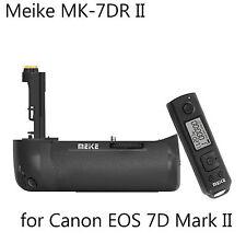 Meike MK-7DR II Battery Grip+2.4G Wireless Control f Canon 7D Mark II as BG-E16