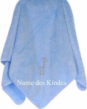 Kuscheldecke mit Namen bestickt Baby Decke Kinderwagendecke Wiegedecke Babydecke