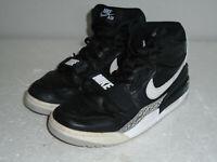Nike Air Jordan Legacy 312 Black Cement AV3922-001 Basketball Shoes Men Size 9