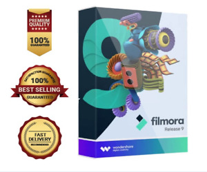 Wondershare Filmora 9 Video Editor Full Version Lifetime License PC