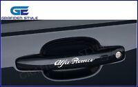 1 SET (4 stück) - Alfa Romeo - Türgriff  Auto Aufkleber - Car Sticker - Decal !