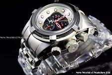 Invicta 53mm Reserve Bolt Zeus Lamborghini Style Black Pearl Chrono Swiss Watch