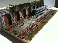 diorama espositore plastico ferroviario ho art.pd 09