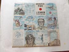JOHN LENNON     SHAVED FISH