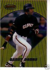 1996 Bowman's Best SAN FRANCISCO GIANTS Team Set (2) BARRY BONDS / MATT WILLIAMS