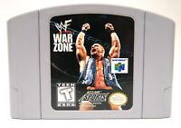 WWF War Zone Video Game *Cartridge Only (Nintendo 64, N64) Teen Ages 13+