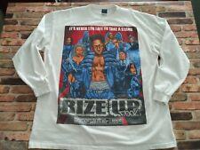 2007 Give Me Face Men's Rise Up X-Men Hip-Hop Rap Vinyl Graphic Tee White 3Xl