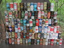 Qty= [150] Vintage Steel Beer Can Collection -[Empty Cans, Multi Pictures]-
