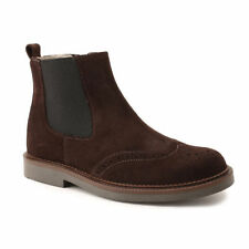 Boots Suede Shoes for Boys with Zip