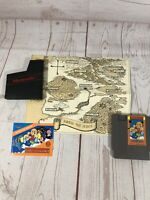 Kung Fu Heroes Game and Manual/Map - NES Nintendo - Excellent Condition