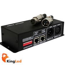 Decoder DMX512 Controller Dimmer Per LED RGB 12A 12-24V Centralina DMX-512 0580