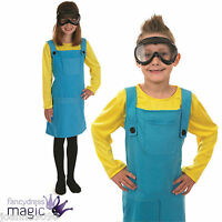 New Childs Boys Girls Despicable Worker Book Day Week Movie Fancy Dress Costume