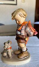 Ne 00006000 w ListingGoebel Hummel Collectible Figure 317 Not For You Tmk3 Boy with Dog