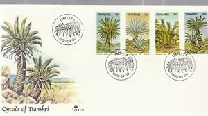SOUTH AFRICA TRANSKEI FDC 1980 PALM TREES FLORA UNADDRESSED