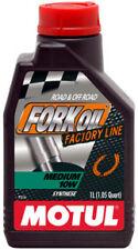 MOTUL FORK OIL OLIO FORCELLE MEDIUM 10W FACTORY LINE 100% SINTETICO MOTO TRIUMPH
