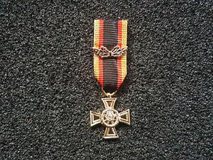 (S1-149) Ehrenkreuz der Bundeswehr für Tapferkeit Miniatur 16mm Miniaturorden
