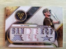 2017 Topps Triple Threads Relic Wil Myers /36 game used jersey