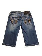 Miss Me Girls' Size 12 Bermuda Denim Shorts