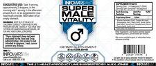 """Alex Jones Infowars LIFE™ """"Super Male Vitality"""" men's health item 2 oz. bottle."""
