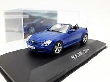 1:43 Atlas Mercedes Benz SLK 350 Blau 2004 Modellauto PKW Diecast Scale Car