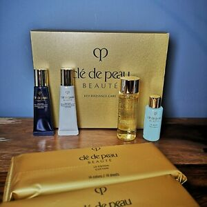 CLÉ DE PEAU BEAUTÉ Key Radiance Care Discovery Set   Smooth Radiant   NEW In BOX
