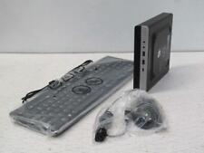 HP EliteDesk 800 G4 Mini Desktop Computer Intel Core i5 8500 256GB SSD