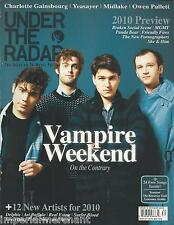 Under the Radar magazine Vampire Weekend Charlotte Gainsbourg Yeasayer Midlake