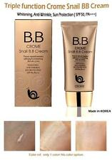 Crome Snail BB Cream Creme SPF 50+ Make-up Abdeckung Foundation Concealer 50ml