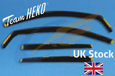 WIND DEFLECTORS HEKO TINTED compatible with NISSAN QASHQAI mk2 5door SUV 14- 4pc