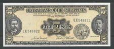 FILIPPINE / PHILIPPINES - 5 Pesos ND (1949) UNC  Pick 135e