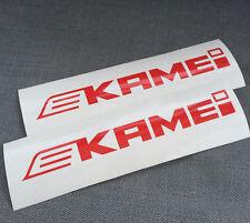 2 X Pegatinas Caja de Techo Kamei \ Calcomanías Autoadhesivas 210 Mm x 26 mm