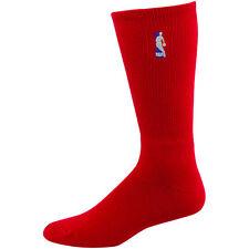 NEW! NBA Logoman Red Large Socks Mens Fits Size 10-13 Player Elite Crew 301