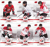 14-15 Team Canada Juniors Carl Neill /199 Red Exclusives 5 Upper Deck 2014