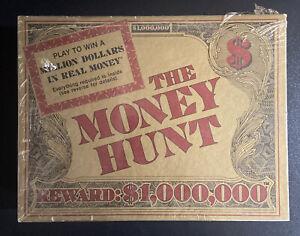Vintage Rare 1985 The Money Hunt Game Million Dollar Trivia Games New Sealed