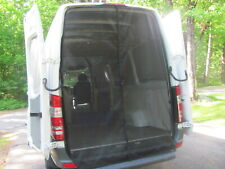 Mercedes Sprinter Van,Magnetic Mosquito Screen, Rear Doors,Outside mount NoSeeUm