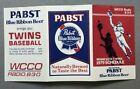 1979 MINNESOTA TWINS Baseball Pocket Schedule PABST BEER Advertising