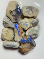 Australian Rough Opal L/Ridge Beautiful Knobby Nice Colours 100cts ww1202 Video