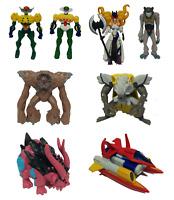 Shin Jeeg Robot d'Acciaio Set Completo 8 Personaggi 3D Giochi Preziosi